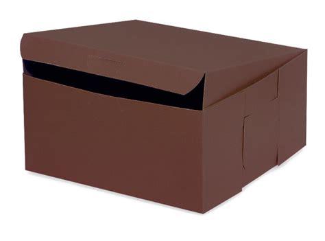xx chocolate bakery boxes  pk  piece lock corner