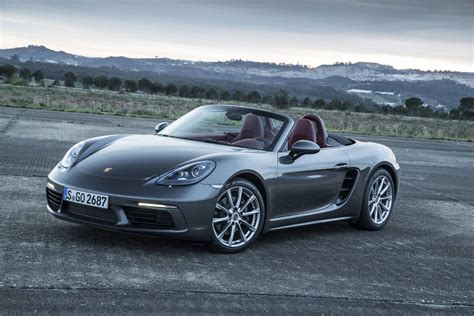 Review Porsche 718 by 2017 Porsche 718 Boxster Review Gtspirit