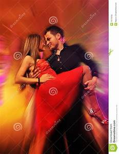 Couple Dancing In The Night Club Stock Image - Image: 13173755