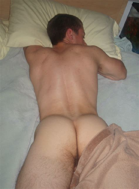 Nude Man With A Nice Ass Laying In Bed Nude Selfie Blog