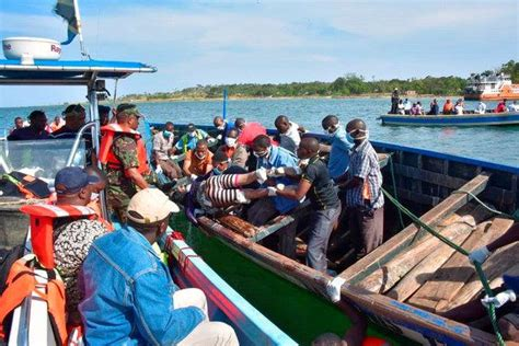 Ferry Boat Accident In Tanzania by Tanzanian Ferry Capsizes Killing At Least 131 The New