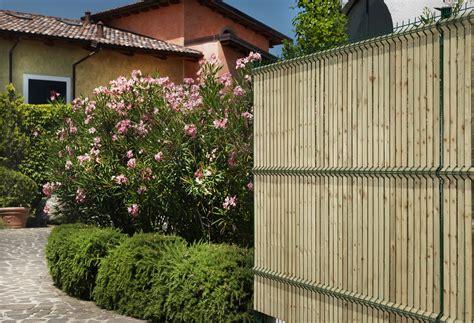 recinzione giardino in legno recinzione paravista in legno bekafor 174 collfort by