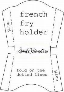 1000 ideas about fry box on pinterest box bunny gift With french fries packaging template