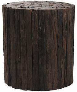 Rondin De Bois Table : tabouret rondin de bois ~ Teatrodelosmanantiales.com Idées de Décoration