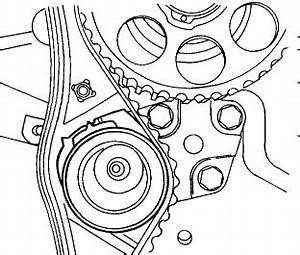 service manual how to replace timing tensioner 2000 With daewoo timing marks