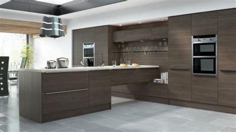 woodgrain brown grey avola sheraton modern kitchens