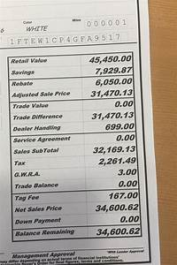 just tell us your under invoice price paid page 121 With 2016 f 150 invoice price
