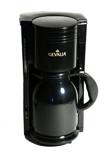 Gevalia 8 cup Black Thermal Carafe Coffee Maker