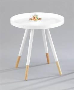 Beistelltisch Weiß Rund Holz : beistelltisch rund wei haus ideen ~ Bigdaddyawards.com Haus und Dekorationen
