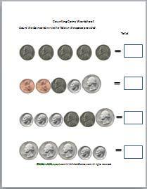 counting money worksheetsmoney games  kids