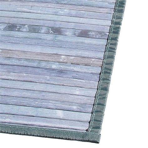 tapis lattes  cm bambou gris tapis eminza