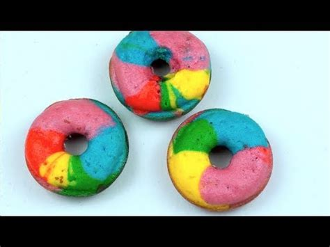 rainbow donuts todds kitchen youtube