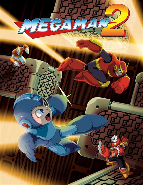 Mega Man Legacy Collection Official Art