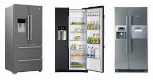 Frigo Americain Avec Glacon : frigo americain dans cuisine equipee vier inoxlave ~ Premium-room.com Idées de Décoration