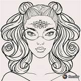 Coloring Teens Pages Teen Stuff Programs Library Printable Books Paintings Female Drawing sketch template
