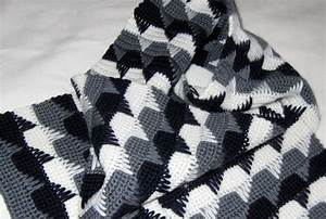 Handsome Crochet Blanket Pattern
