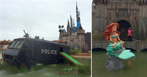 Welcome to Dismaland: A First Look at Banksy's New Art