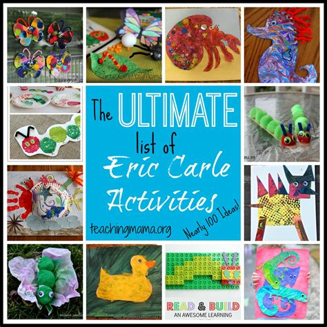 preschool books with activities the ultimate list of eric carle activities 494
