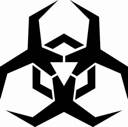 Symbol Biohazard Transparent Cool Symbols Hazard Clip