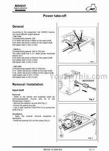 Claas Renault Temis 550 610 630 650 Repair Manual  Tractor   U2013 Youfixthis