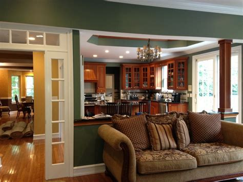 paint consultation colors traditional family room