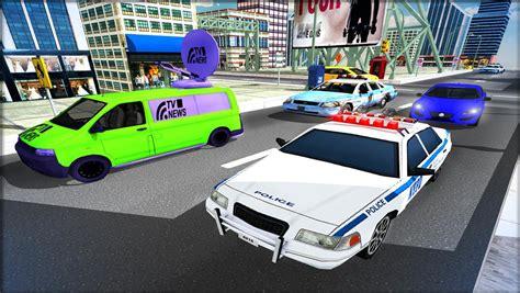 Cop Car Driver 3d Simulator