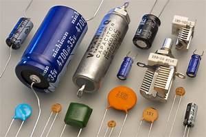 Types of Capacitors | Electrolytic, Variable & Film Capacitors