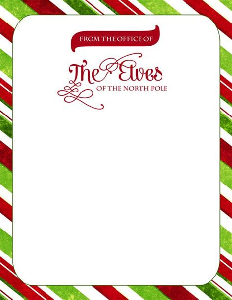 elf official letterhead designed  sassy designs