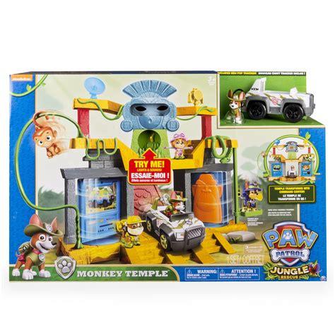 Amazon.com: Paw Patrol Monkey Temple Playset: Toys & Games