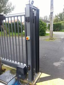 Moteur Barriere Coulissante : motorisation portail coulissant industriel barriere ~ Edinachiropracticcenter.com Idées de Décoration