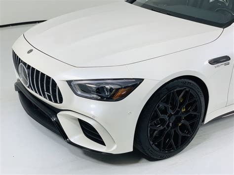 Driving dynamics at motorsport level, explosive sprints. Pre-Owned 2019 Mercedes-Benz AMG® GT 63 S 4-Door Coupe