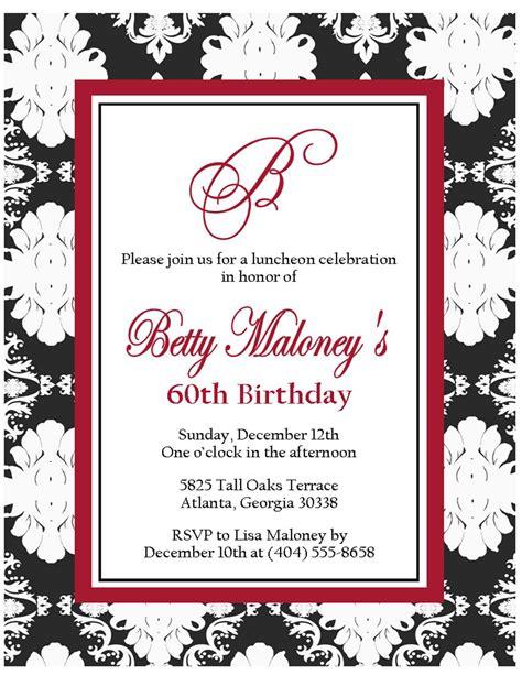 birthday invitations   birthday dinner