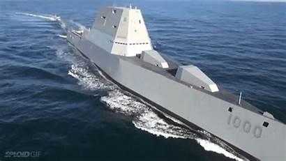 Destroyer Zumwalt Stealth Stealthy Navy Class Uss