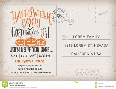 Contest Announcement Template by And Costume Contest Invitation Template