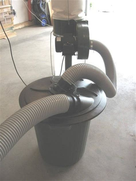 dust collection cyclone lid  trash     big