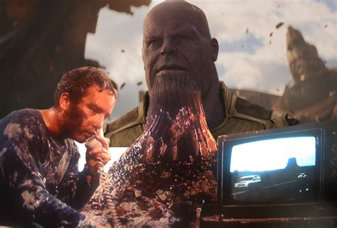 thanos photoshop avengers infinity war makeover gets unsee tbh isn bad