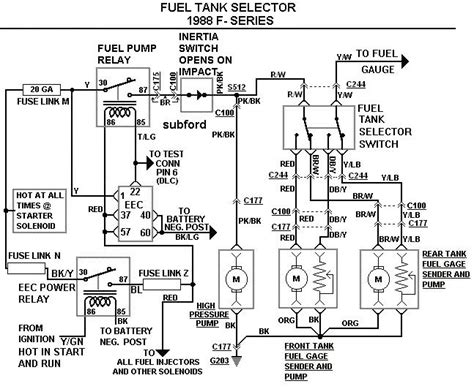 Dual Fuel Tank Diagram Engine Wiring Images