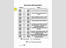 Lucy Calkins Unit 4 1st grade Narrative writing rubric