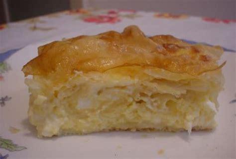 cuisine serbe recette serbe gibanica au fromage un plat très