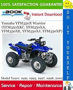 Yamaha Yfm350x Warrior  Yfm350xkc  Yfm350xa  Yfm350xe