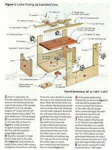 Spindle Fluting Jig Plans • WoodArchivist