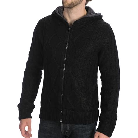 sherpa sweater sherpa lined hooded sweater for 5570k save 70