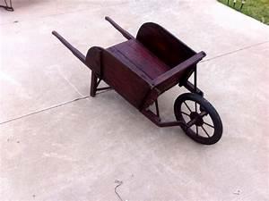 Refurbished Pallet Wheelbarrow Planter