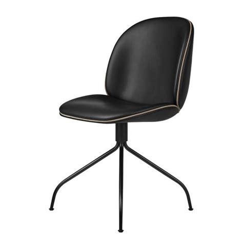 gubi beetle dining chair swivel base fully upholstered