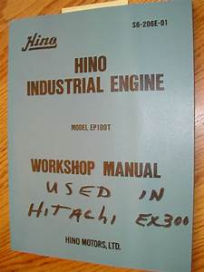 Hino Ep100t Workshop Service Repair Manual Engine Diesel