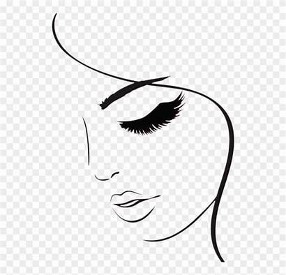 Eyelashes Cartoon Clipart Drawing Lashes Eye Pinclipart