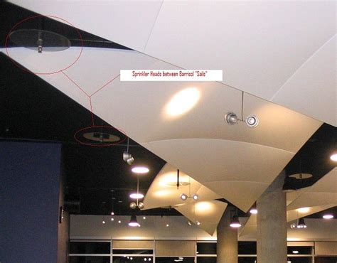 Barrisol Ceiling Rating by Sprinklers Mechanical Barrisol Bc