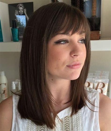 medium straight hairstyles  haircuts stylish