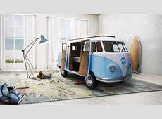 Una cama genial para decorar una habitación juvenil