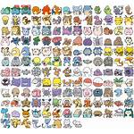 Spriters Resource Sheet Icons Previous Resources Pokemon